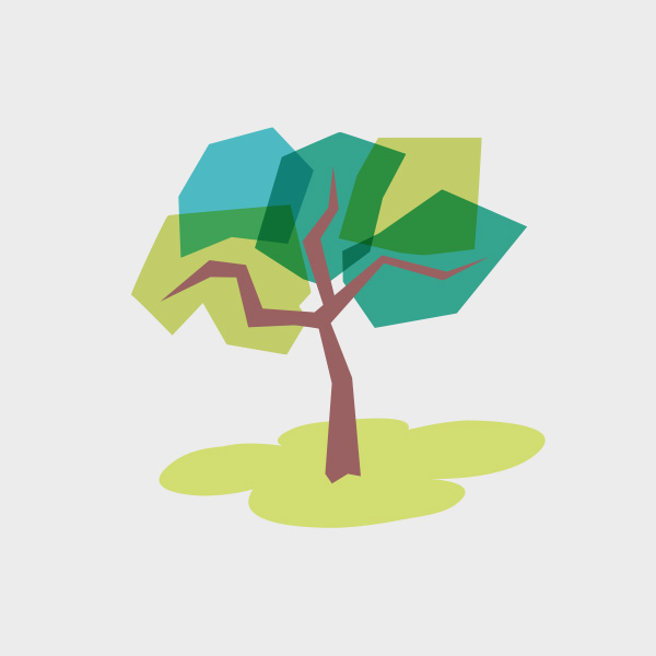 Free Vector of the Day #760: Geometric Tree
