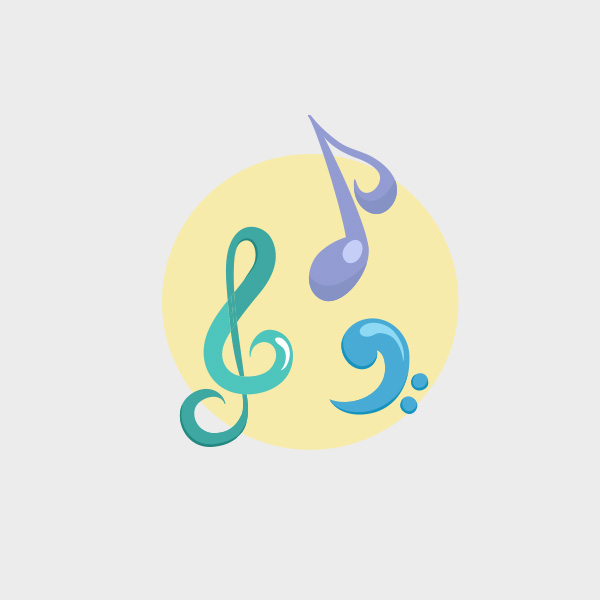 Free Vector of the Day #756: Music Vector
