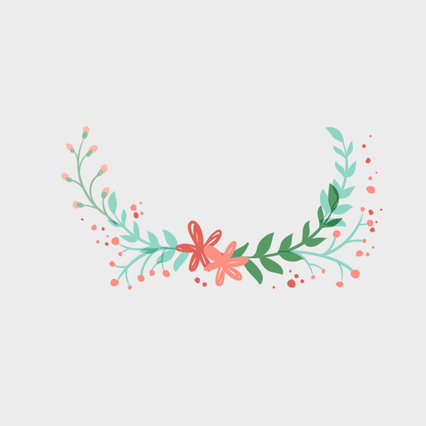Free Vector of the Day #766: Spring Ornament