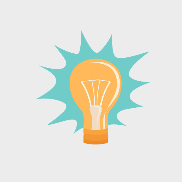 Free Vector of the Day #754: Vector Light Bulb