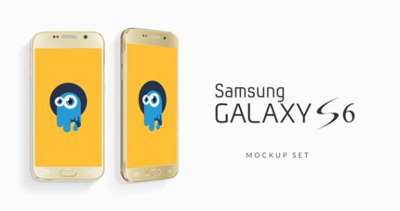 mock-ups samsung galaxy s6