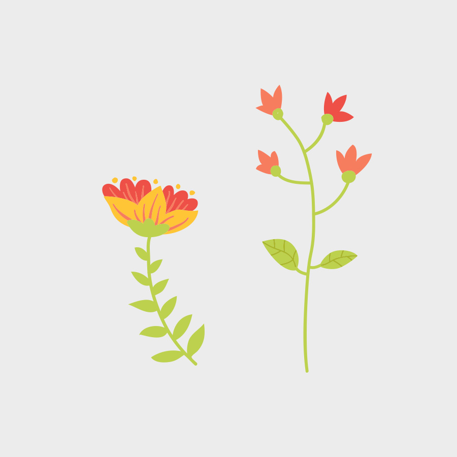 Free Vector of the Day #793: Spring Flowers