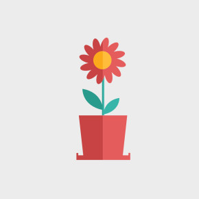 Free Vector of the Day #807: Flat Flower