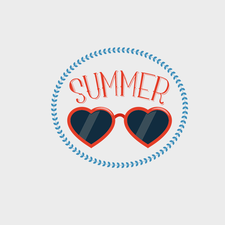Free Vector of the Day #801: Summer Vector