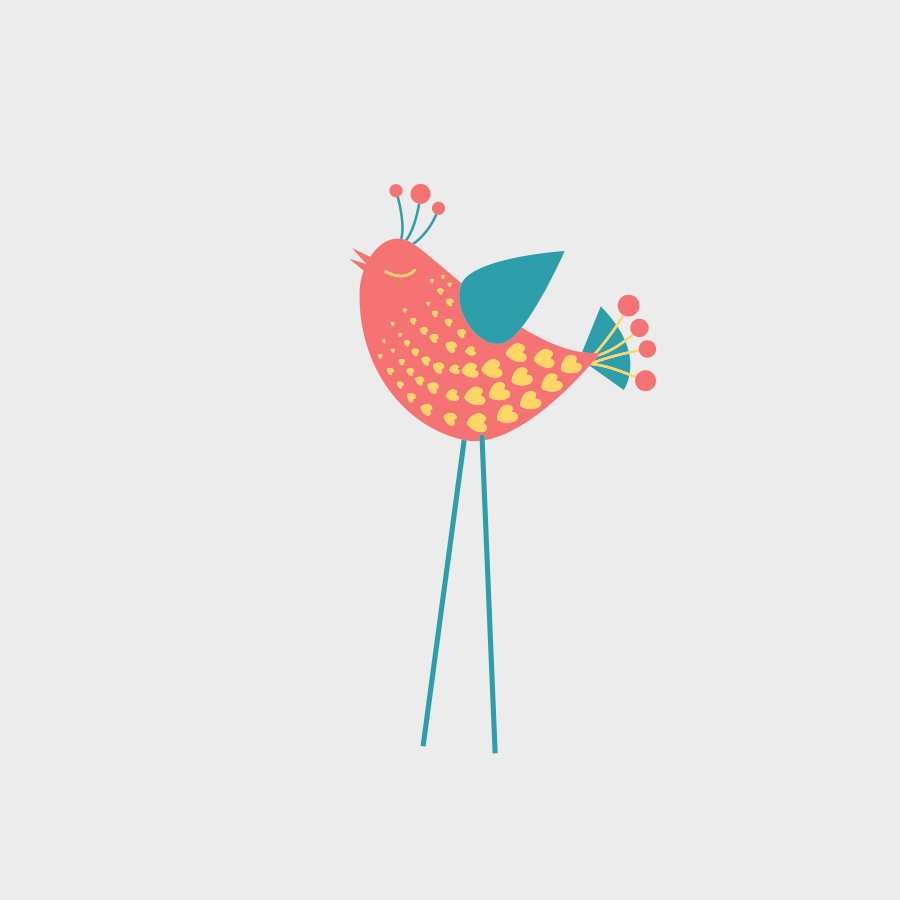 Free Vector of the Day #806: Vector Bird
