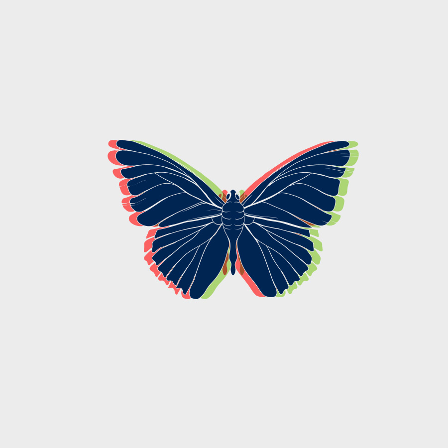 Free Vector of the Day #805: Vector Butterfly