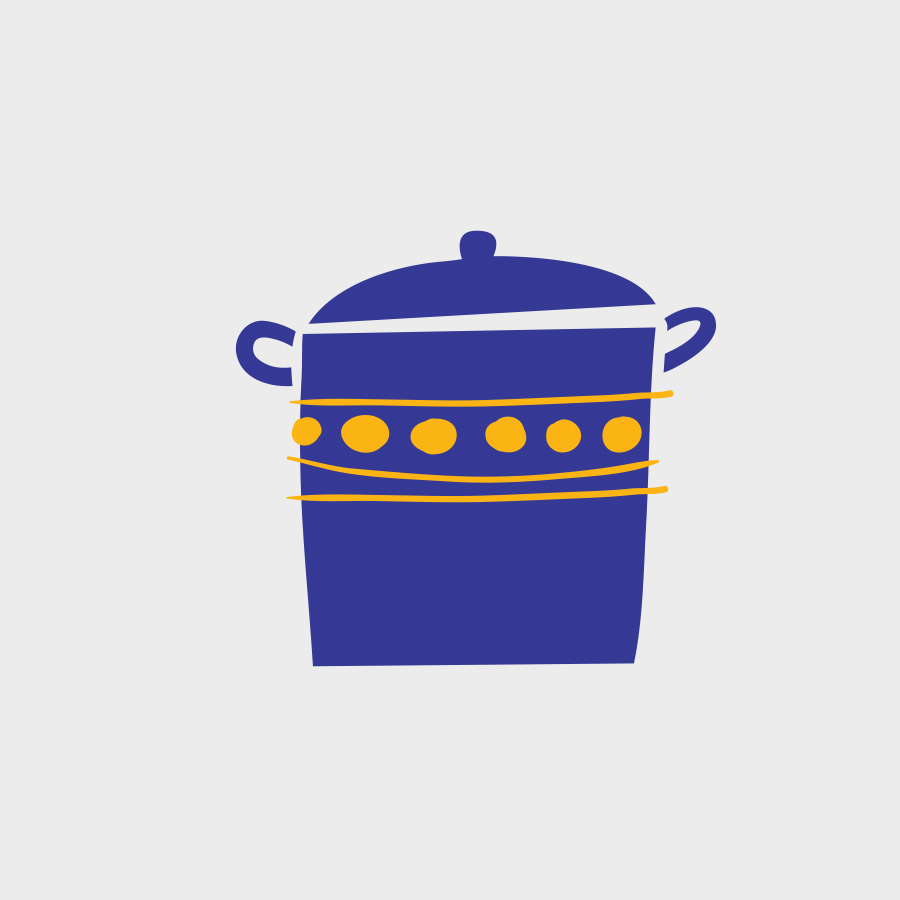 Free Vector of the Day #808: Cooking Pot