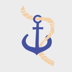 Free Vector of the Day #822: Vector Anchor and Rope