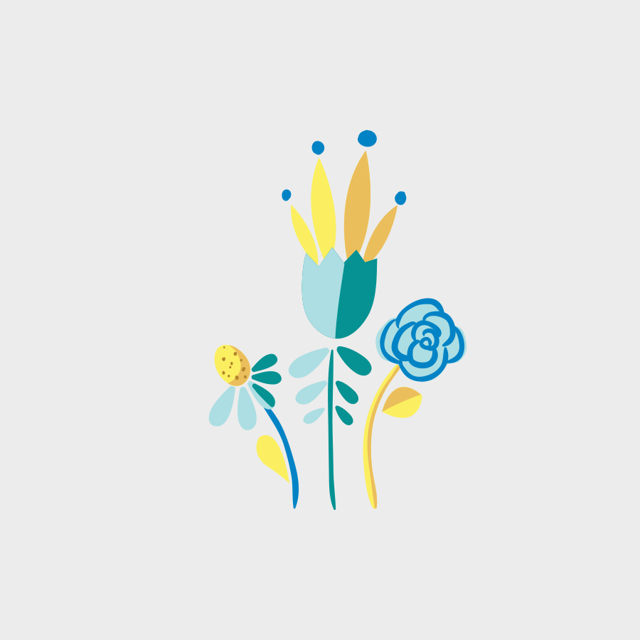 Free Vector of the Day #814: Vector Flowers