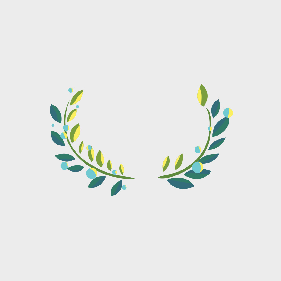Free Vector of the Day #812: Vector Laurel