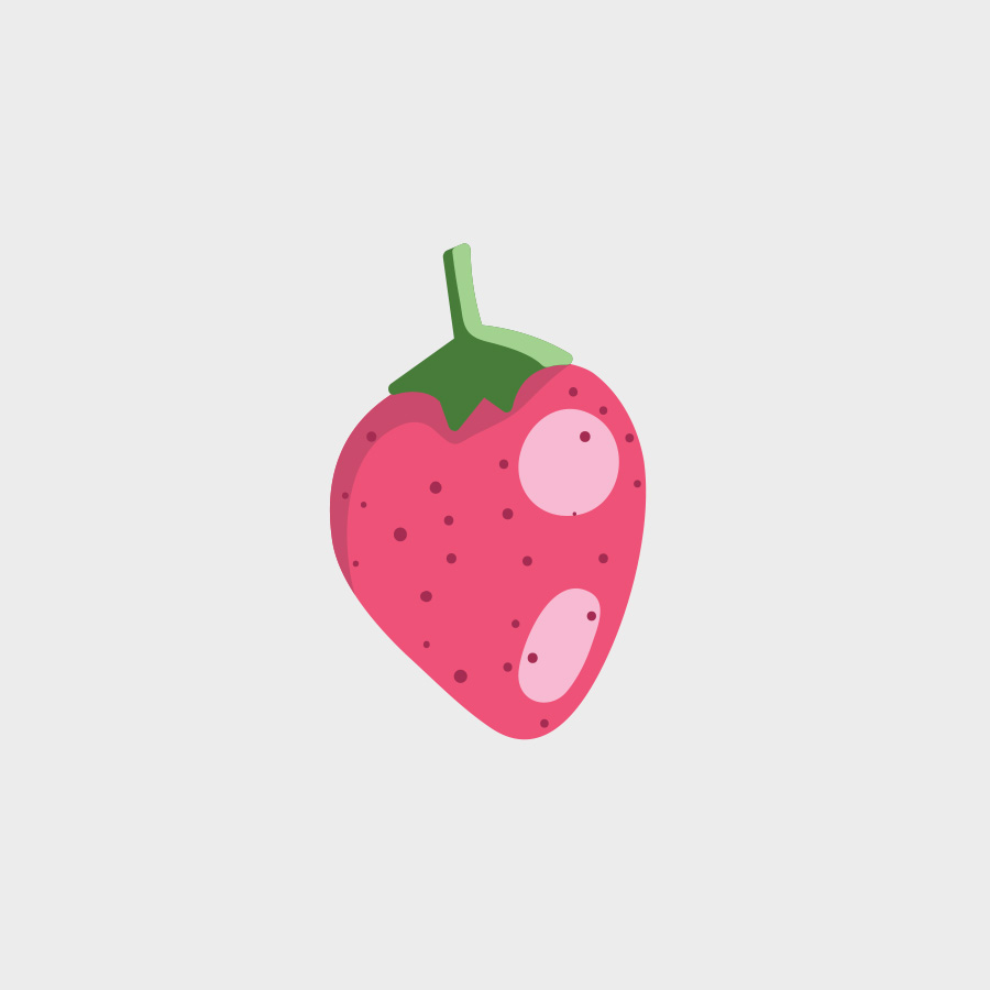 Free Vector of the Day #811: Vector Strawberry