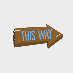 Free Vector of the Day #823: Wooden Sign