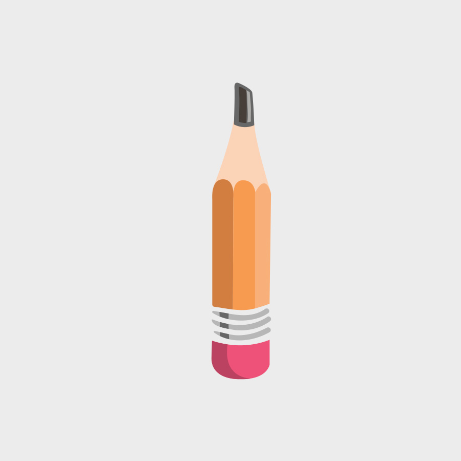 Free Vector of the Day #826: Vector Pencil