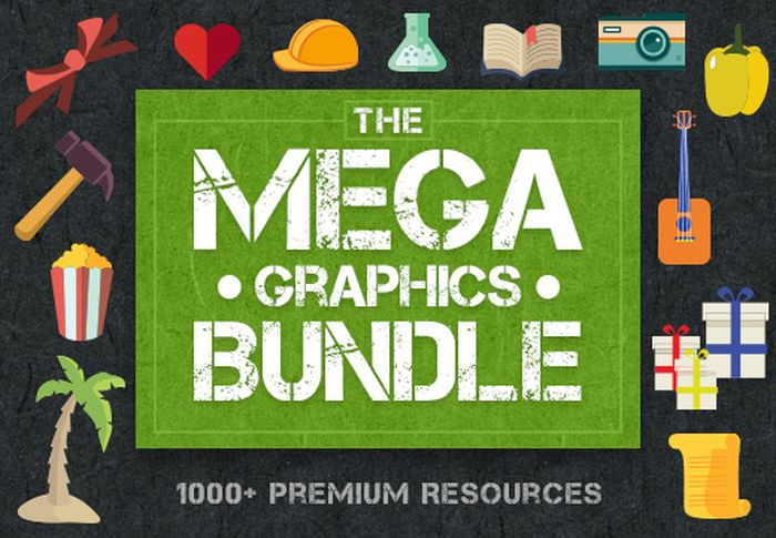 Deal of The Week: The Mega Graphics Bundle with 1000+ of Premium Resources