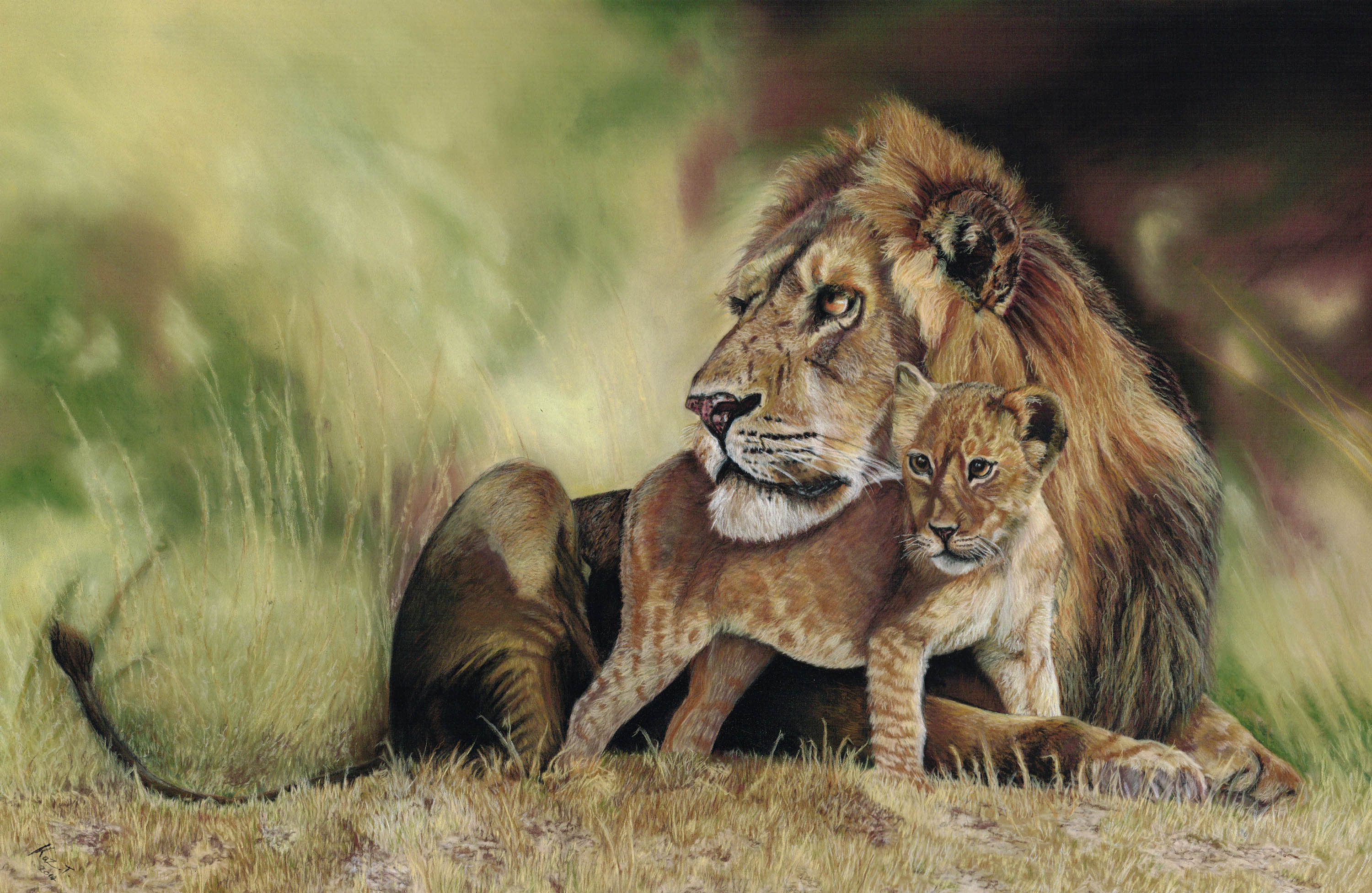 The Exquisite Wildlife Illustrations of Artist Kaz Turner