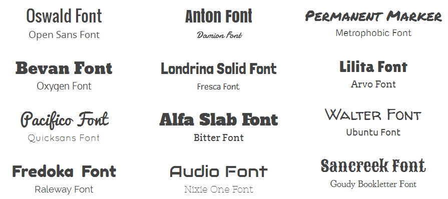 Good Font Combinations For Resume