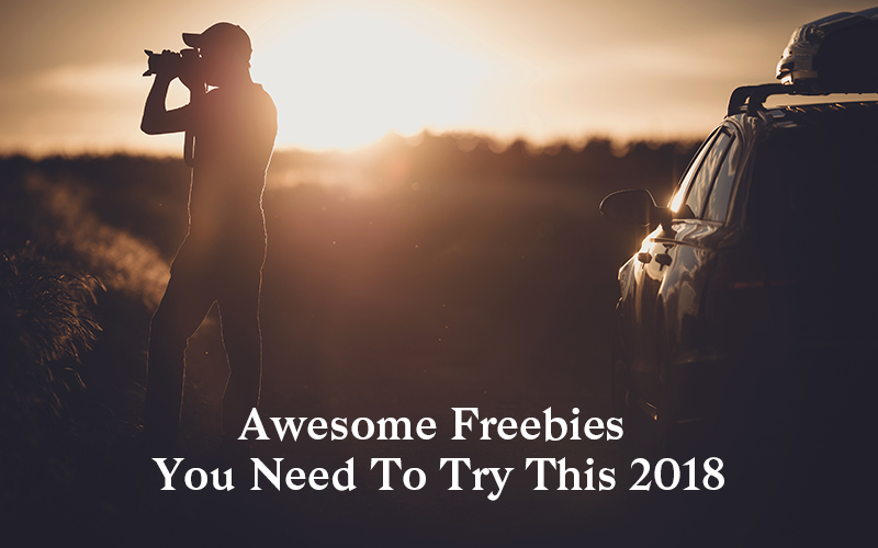 Awesome Freebies You Need To Try This 2018