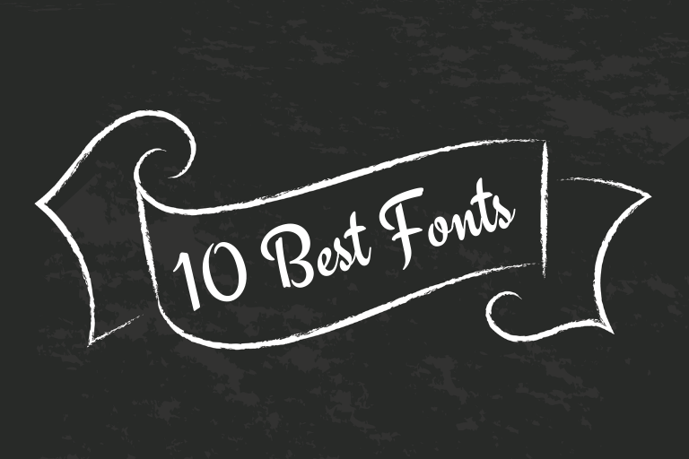 10 Best Fonts To Use For Your Websites and Blogs