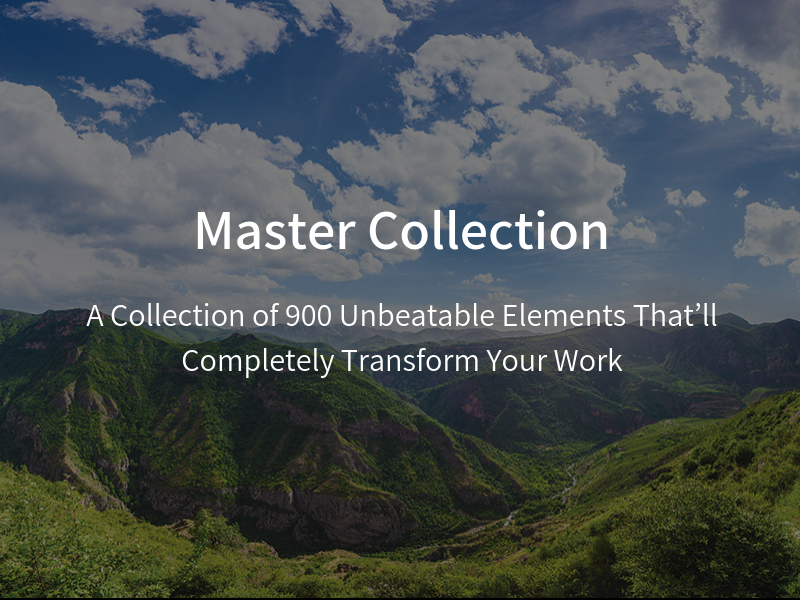 Master Collection: A Collection of 900 Unbeatable Elements That'll Completely Transform Your Work