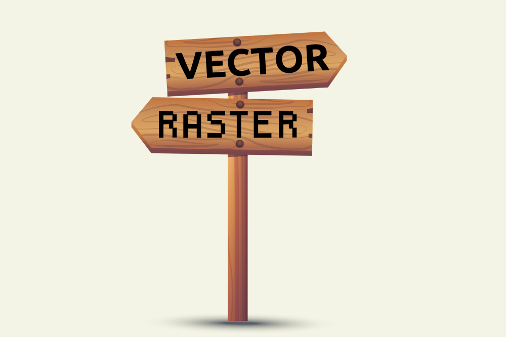 Raster vs Vector Graphics – What's The Difference?