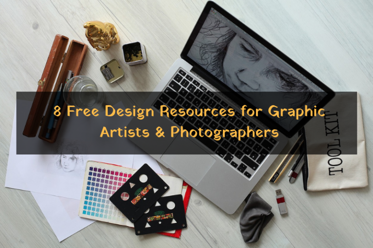 Top 8 Free Design Resources for Graphic Artists and Photographers