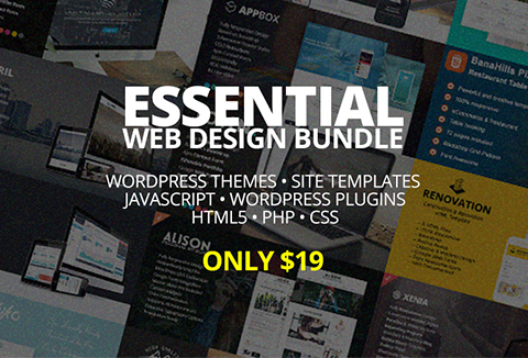 Essential Web Design Bundle For All The WordPress Ninjas | Lifetime Access