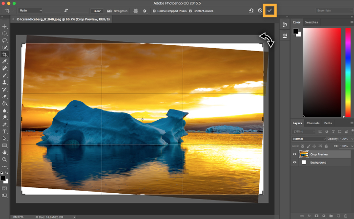 How To Edit Photos In Photoshop to crop photos