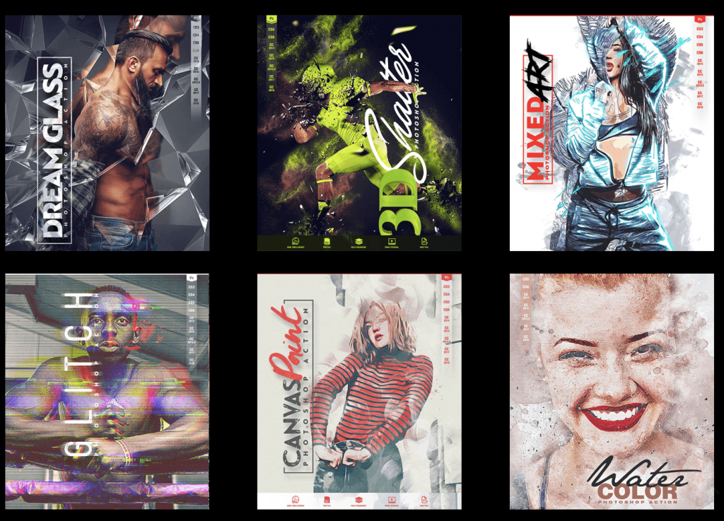 DealFuel - AMAZING ARTISTIC PHOTO FX BUNDLE WITH 25 PHOTOSHOP EFFECTS