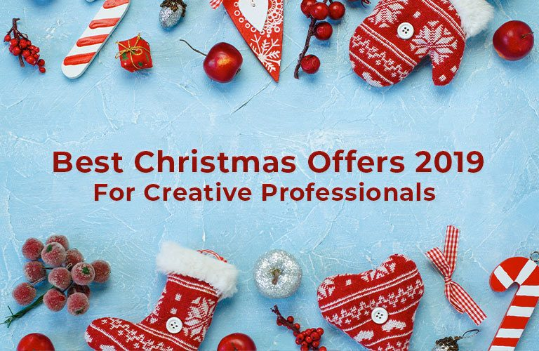 Best Christmas Offers 2019 For Creative Professionals