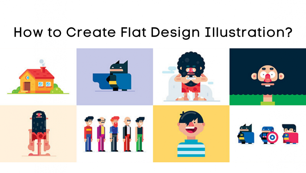 How to Create Flat Design Illustration?