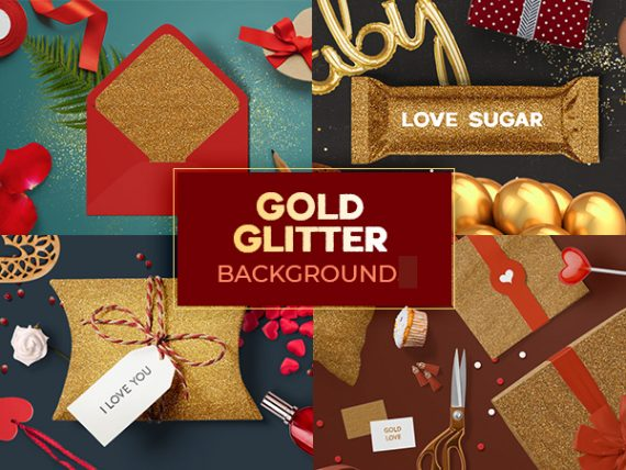 Gold Glitter Background - Free Download