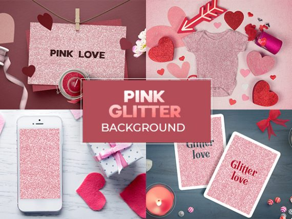 Pink Glitter Background - Free Download